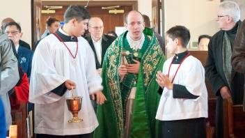 Toronto Church of the Transfiguration Visit Fr Gomis 2019