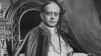 Pope Pius XI, who wrote Mortalium Animos, the encyclical on Ecumenism