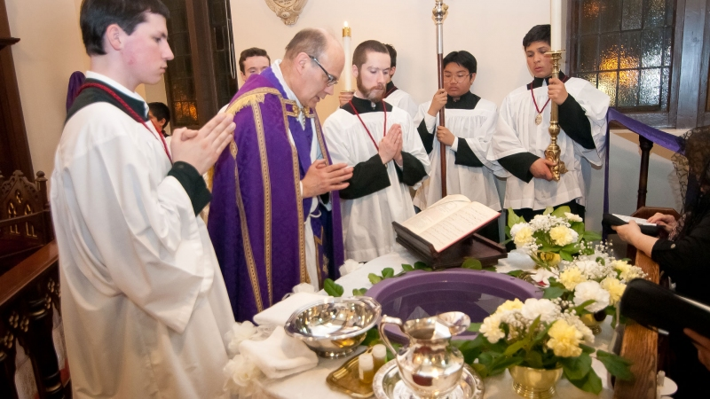 Easter Vigil at the Church of Transfiguration - Toronto